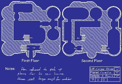 Corellia Large s  blueprint jpgLarge Corellia House  Style